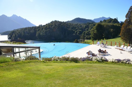 Llao Llao Hotel and Resort, Golf-Spa:                                     View of pool