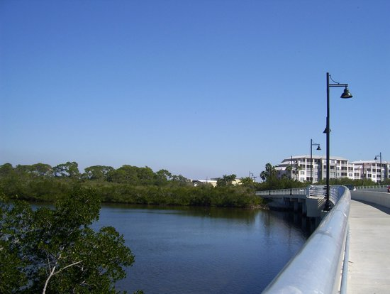 Cape Haze Pioneer Trail Park:                   Bridge on Gasparilla Rd (near Grande Tours Inc)