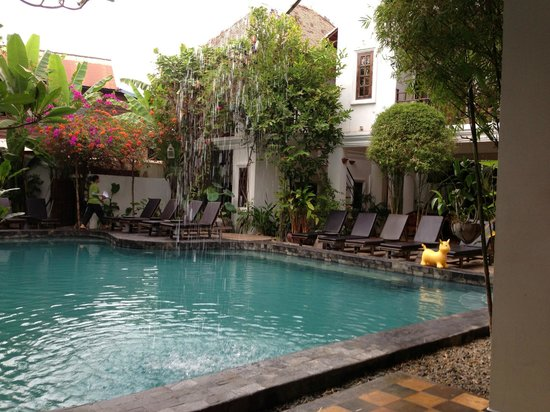 Rambutan Resort - Siem Reap:                   The beautiful pool.
