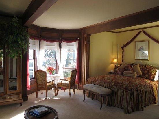Headlands Inn Bed & Breakfast:                   Bessie Strauss Suite