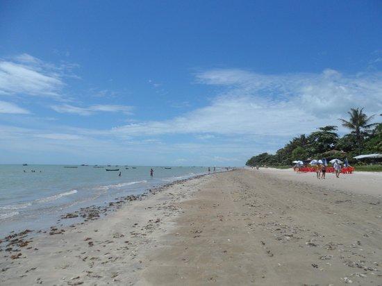 Cumuruxatiba Beach:                   Cumuruxatiba