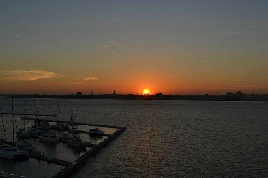Patriots Point Naval & Maritime Museum: Sunset