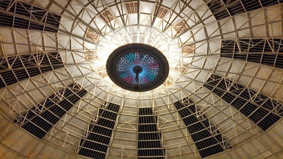 West Baden Springs Hotel:                   Dome at night