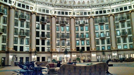West Baden Springs Hotel:                   Lobby