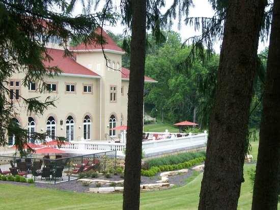 West Baden Springs Hotel:                   outdoor pool