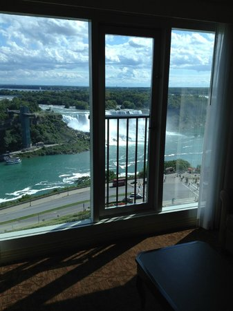 Sheraton on the Falls: The view from the room