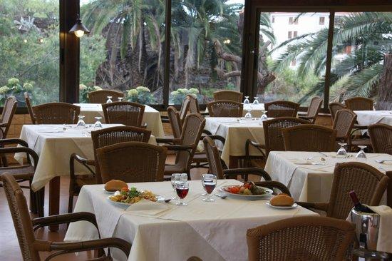 Parque Vacacional Eden: der neue Anbau am Restaurant