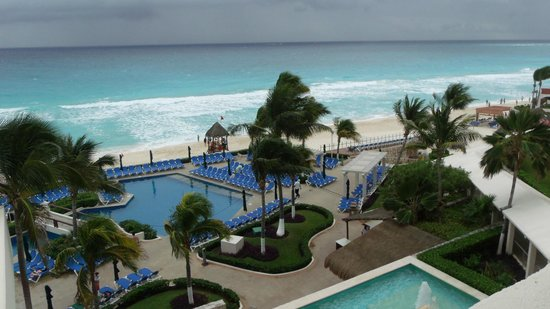 Royal Solaris Cancun:                   View from room