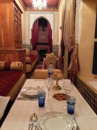 Riad Al Kadar:                   Dinner