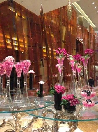 ARIA Sky Suites:                   sky suites reception