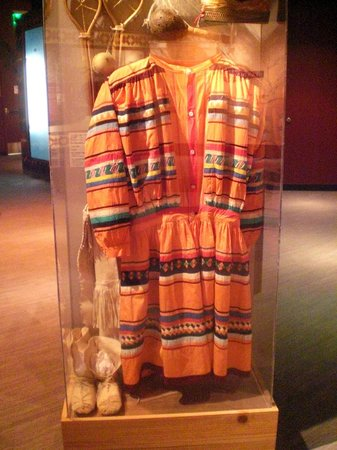 Tampa Bay History Center: Clothing from one of the ethnic groups that make up Tampa history