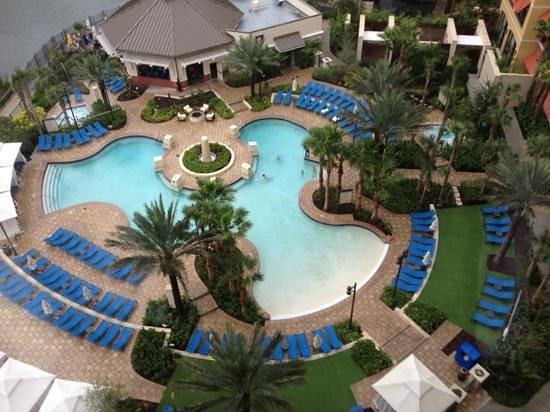 Wyndham Grand Orlando Resort Bonnet Creek:                   uitzicht van onze kamer                 