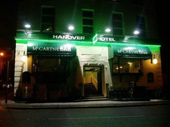"The Hanover Hotel & ""McCartneys Bar"""