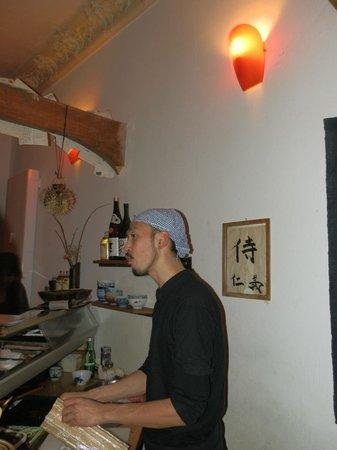 Gingi Sushi Sashimi:                   Chef