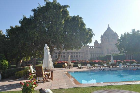 Umaid Bhawan Palace Jodhpur: The outdoor pool