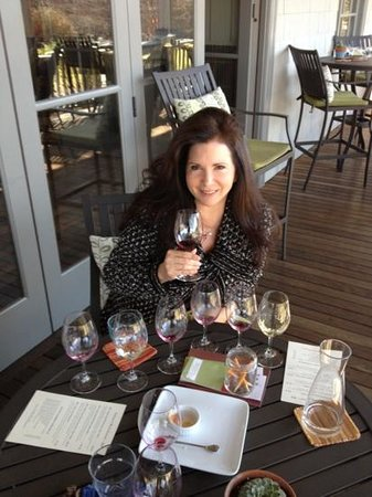 Frog's Leap Winery:                   Frog's Leap- what a wine tasting should be!