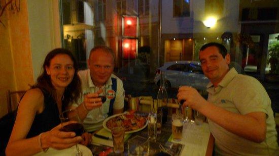 Pizzeria Figaro:                   Happy customers..!
