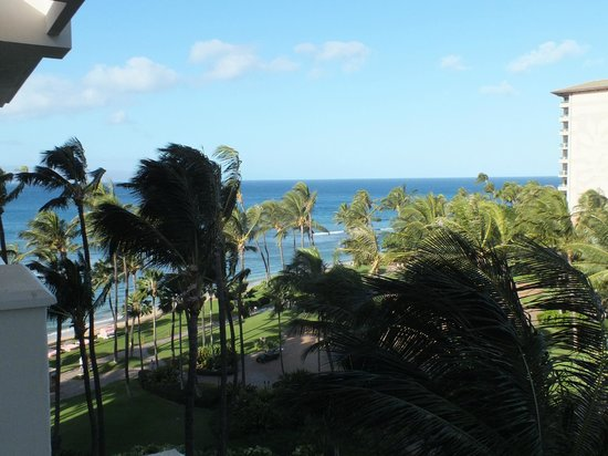 Hyatt Regency Maui Resort and Spa:                   The view from our lanai