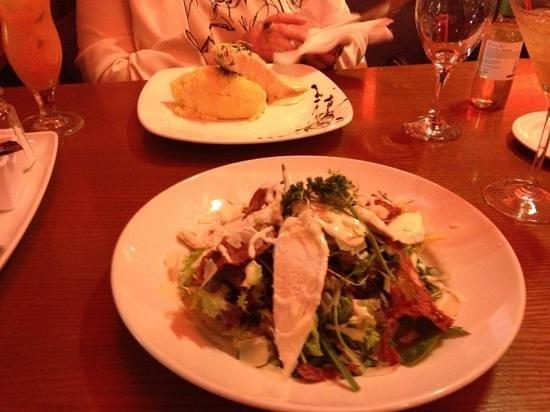 Glenroyal Hotel & Leisure Club:                   the salad and salmon mains