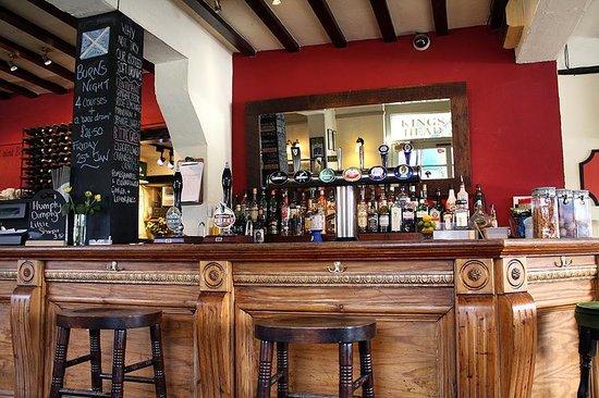 The King's Head Brooke: The bar
