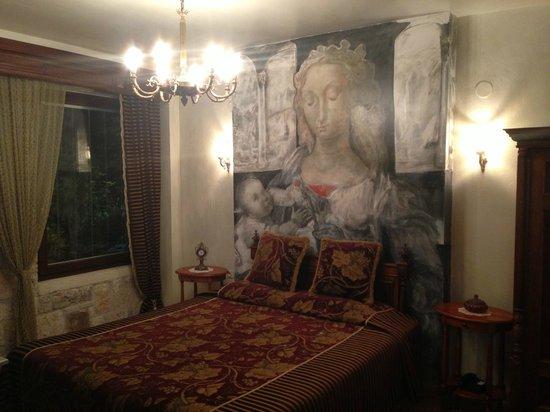 Leventis Art Suites:                                     δωματιο