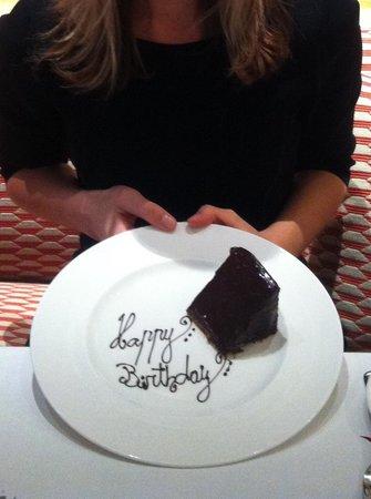 Oscar Restaurant & Bar:                   Birthday brunch