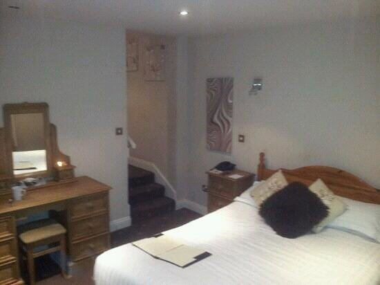New Dungeon Ghyll Hotel:                                     our bedroom (number4)