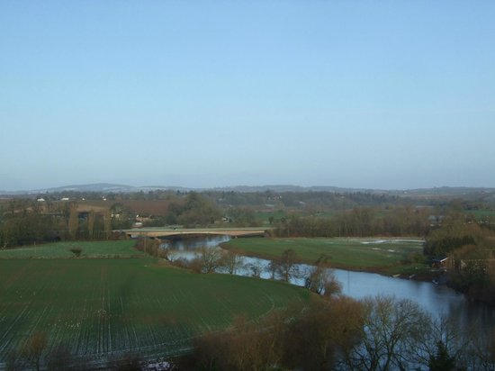 The Royal Hotel: View of the River Wye