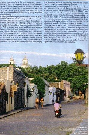 La Casa de los Limoneros: Revista British Airways