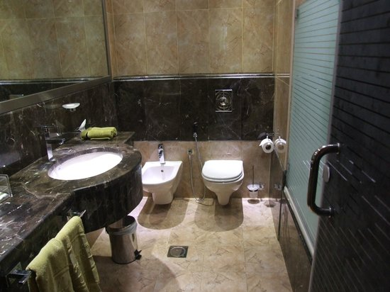 Golden Tulip Thanyah Hotel Apartments:                   Bathroom
