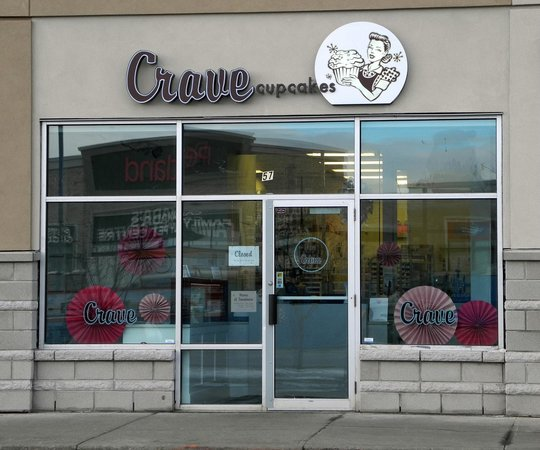 Crave Cookies and Cupcakes  - Crowfoot:                   Crave Cookies and Cupcakes - Crowfoot, Jan 2013