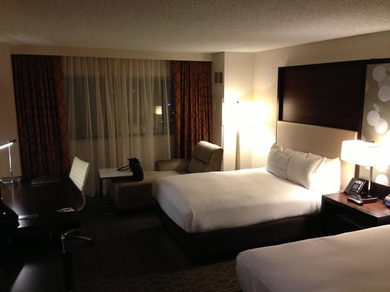 Hilton Atlanta Airport:                   Sleeping Area