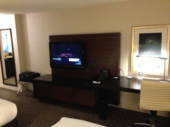Hilton Atlanta Airport:                   Workspace