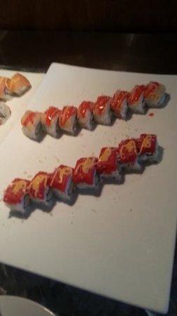 Tryyaki: Sushi nicely arranged and so yum