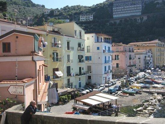 Hotel Admiral Sorrento: Marina area