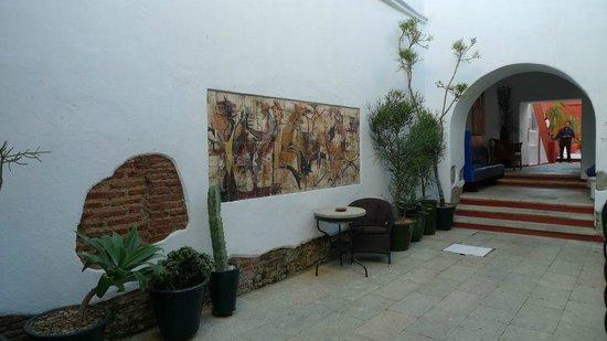 Casa Oaxaca: Courtyard