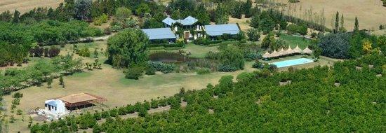 La Casa de los Limoneros: Vista aerea 1