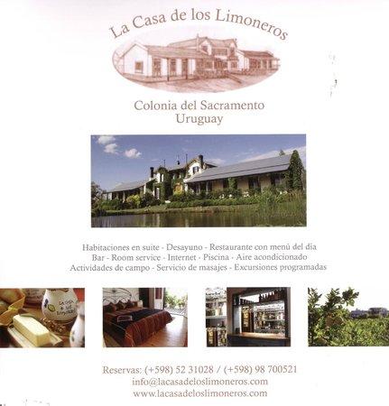 La Casa de los Limoneros: General