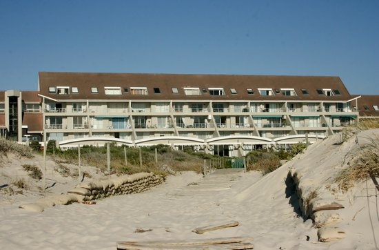 Dolphin Beach Hotel: From the beach