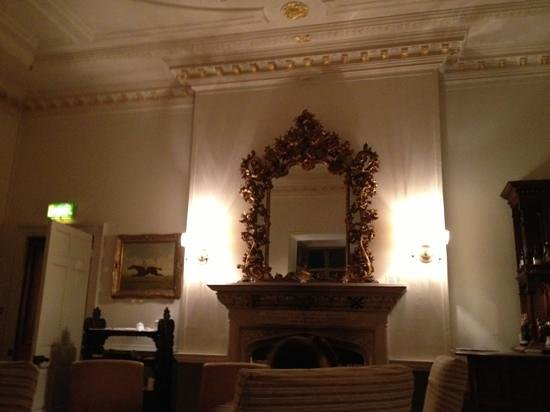 Waterford Castle Hotel & Golf Resort:                   the bar where we waited for our table