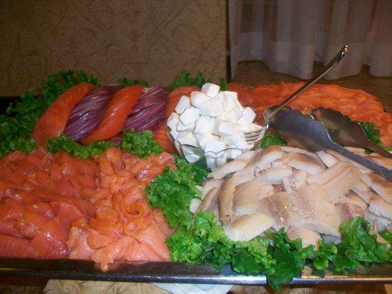 Allgauer's Restaurant:                   smoked salmon and whitefish