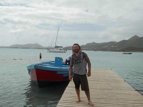 Saint-Martin, St. Maarten:                   llegada a pinel