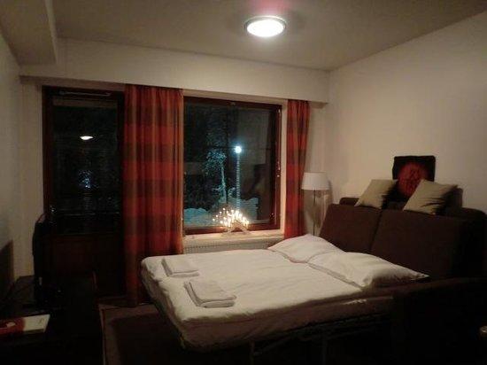 Lapland Hotel Riekonlinna:                   ソファベッド