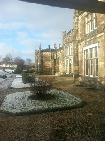 Mar Hall Golf & Spa Resort:                   Lovely wintery morning at Mar Hall