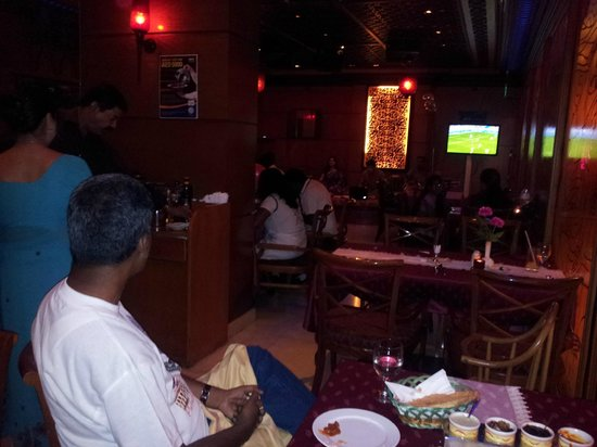 The Country Club Hotel:                                     Dinning & Watching TV