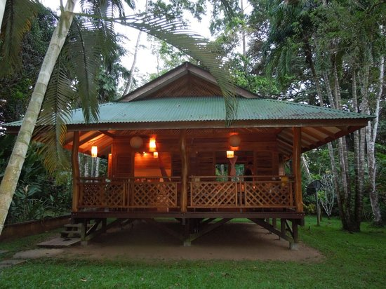 La Finca Chica:                   Our bungalow...