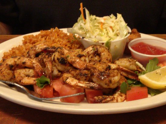 T.W. Graham & Company Seafood Restaurant:                   grilled shrimp