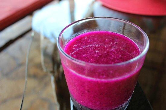 Hacienda Puerta Del Cielo Eco Spa:                   Pitaya juice