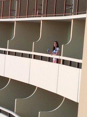 Sheraton Waikiki:                   balconies