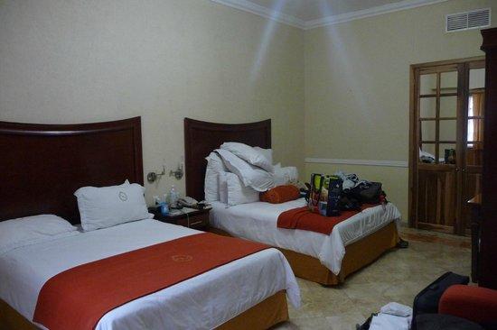 Hotel Hacienda Real del Caribe:                   Chambre rez de chaussée